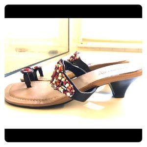 Boho Chic Beaded Sandals